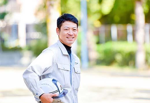 施工管理職 阪本 純司